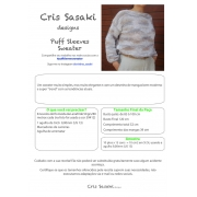 Receita Puff Sleeves Sweater - Empório das Lãs