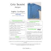 Receita Sophia's Cardigan - Empório das Lãs