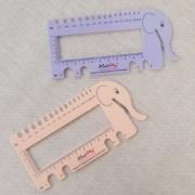Régua medidora de amostra e agulhas no Tricô e Crochê - KnitPro