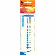 Régua para medir amostra - Pony 60667