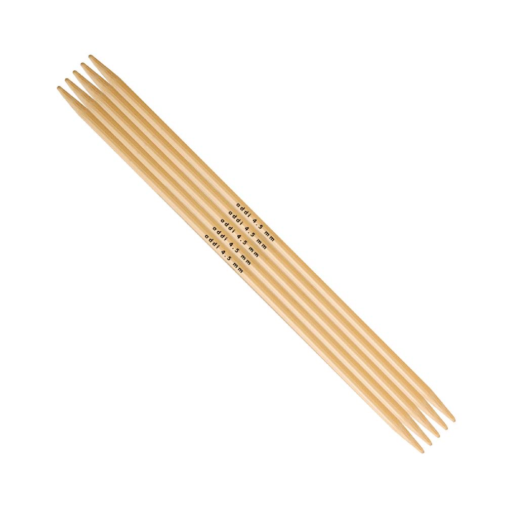 Agulha de 2 Pontas de Bambú- Addi 501-7