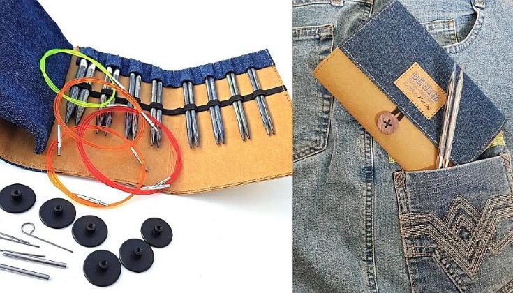 Conjunto Denin KnitPro de agulhas circulares Intercambiáveis