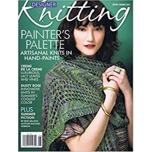 Designer Knitting Spring Summer 2016
