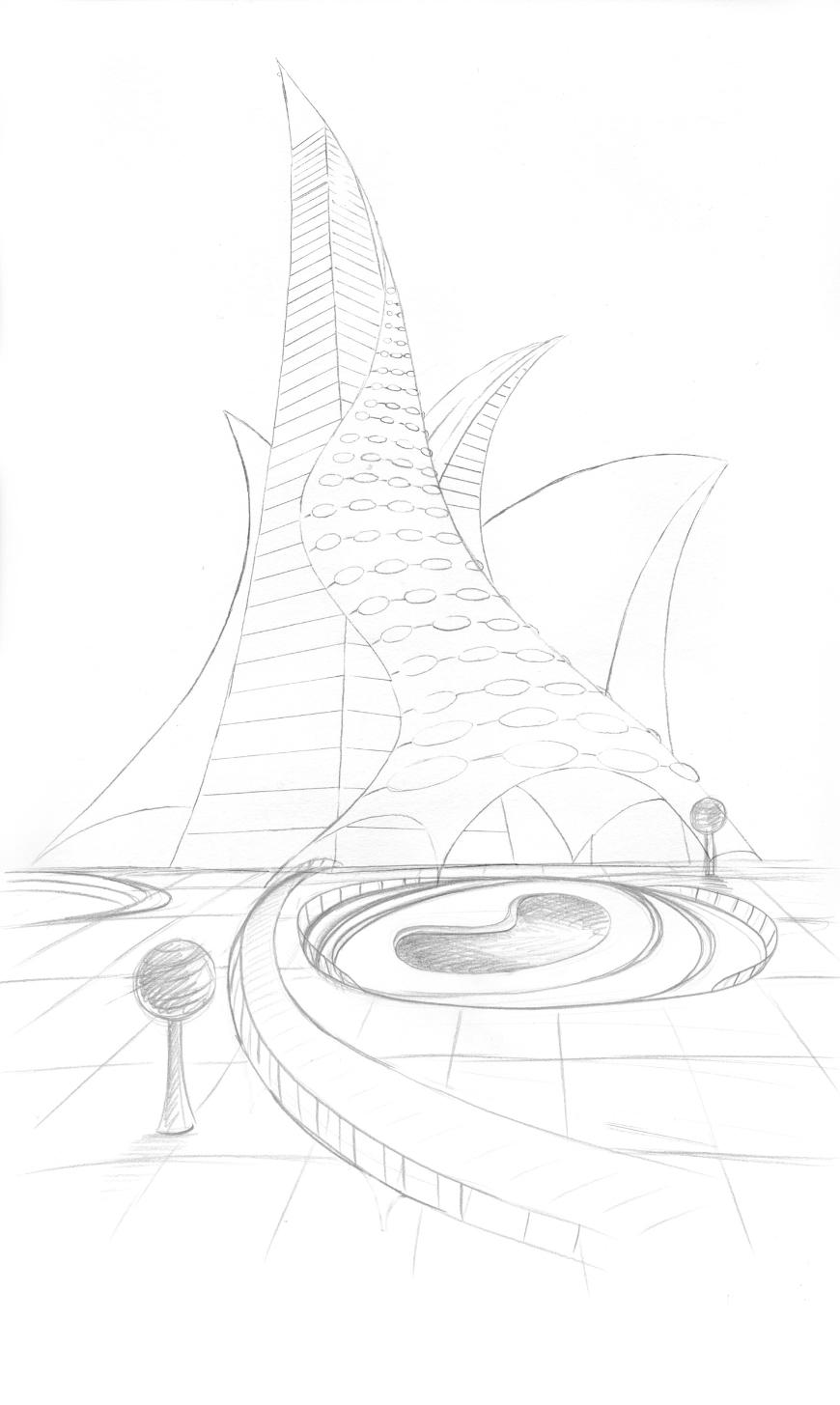 Estojo contendo 6 Lápis premium de desenho Mars Lumograph 100 - Staedtler