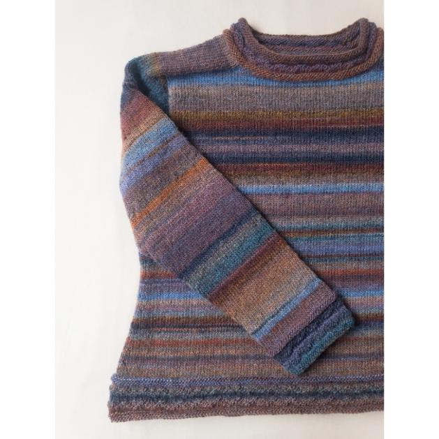 Kit Genova Sweater - Tamanho 7 e 8 - Moira - Lanafil