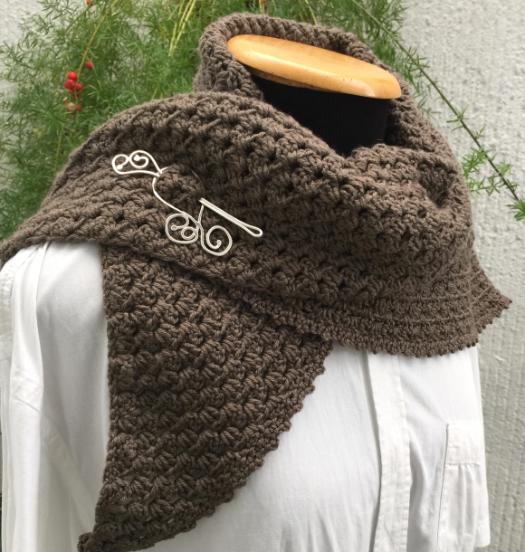 Kit Croche Neck Warmer - Super Tajmahal - Filatura Cervinia