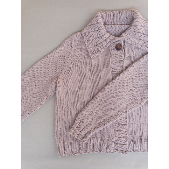 Kit Everyday Cardigan - Tamanho S - Cotton Basic - Lanafil