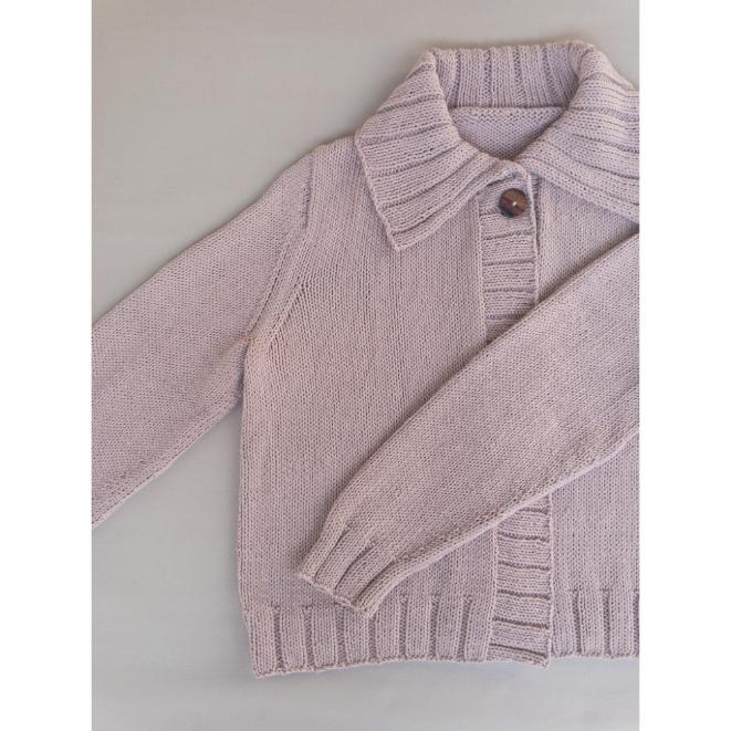 Kit Everyday Cardigan - Tamanho XL - Cotton Basic - Lanafil
