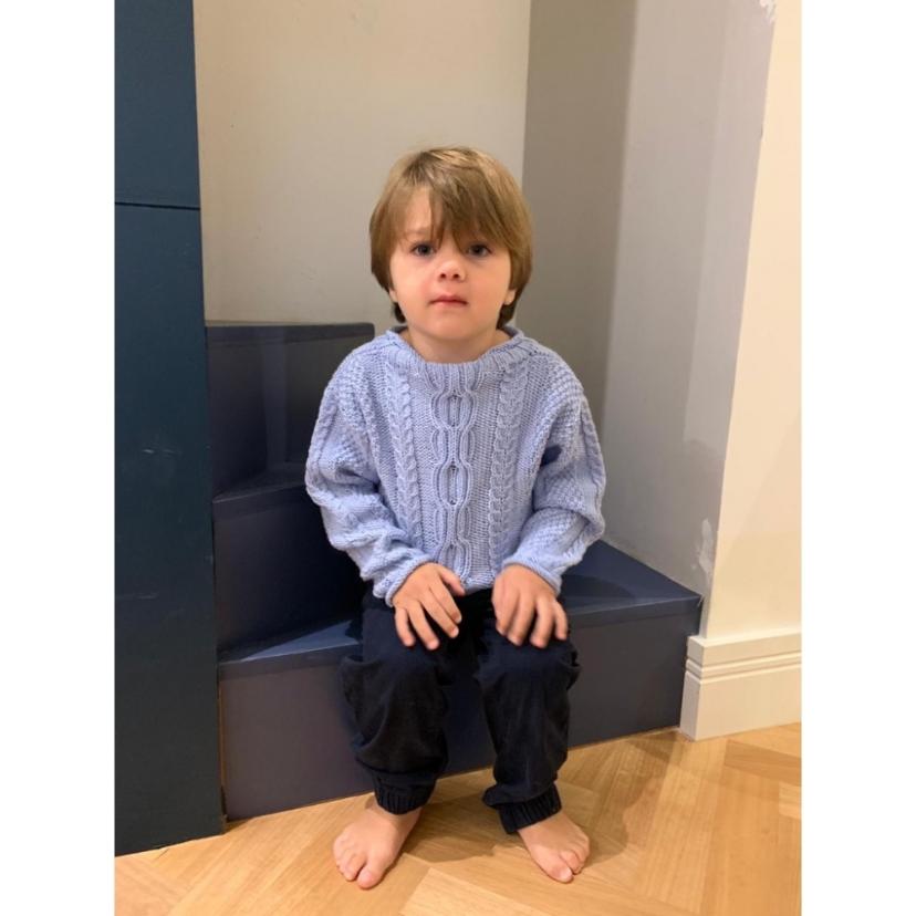 Kit Ravi Sweater - Tamanho 8 anos - Sidney - Filatura Cervinia