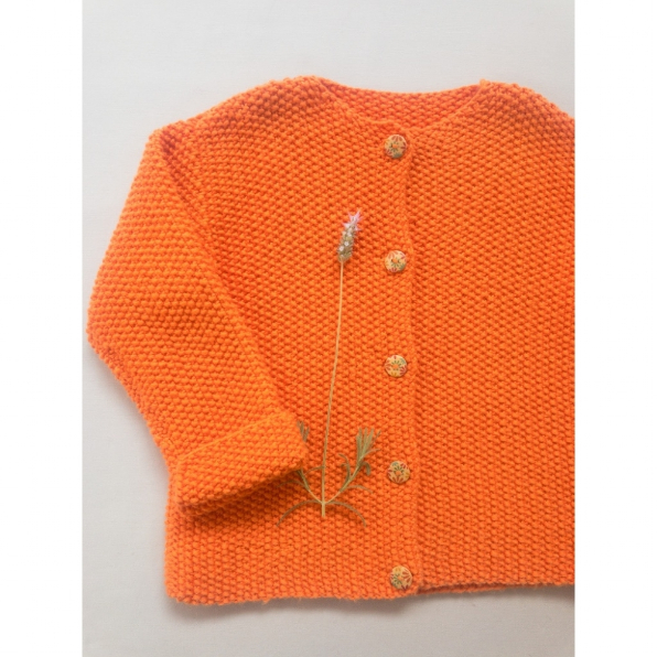 Kit - Seed Stitch Cardigan - Val Gardena - Filatura Cervinia
