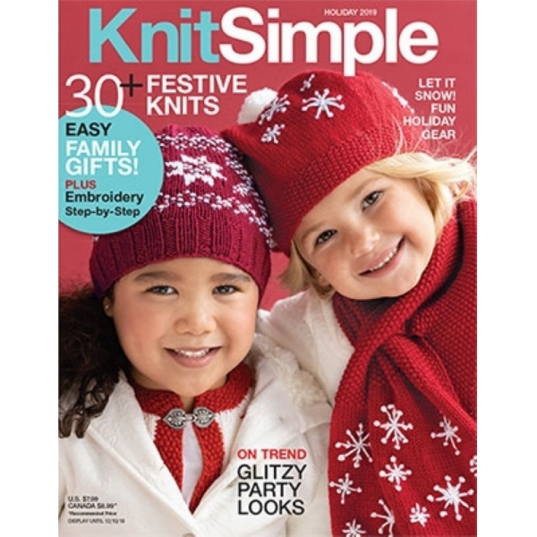 KnitSimple Magazine Holiday 2019