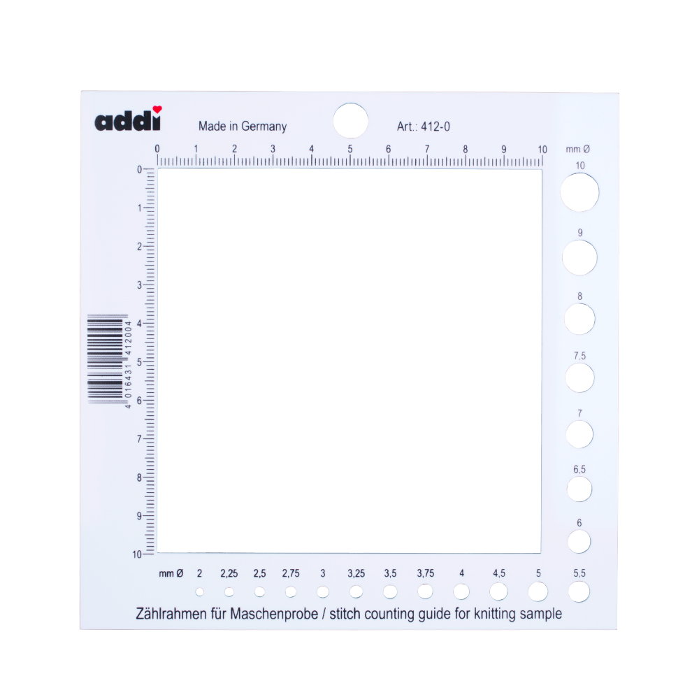 Medidor de amostras e agulhas - Addi 412-0