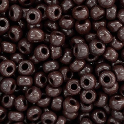 Miçangas Jablonex Marrom Escuro Fosco