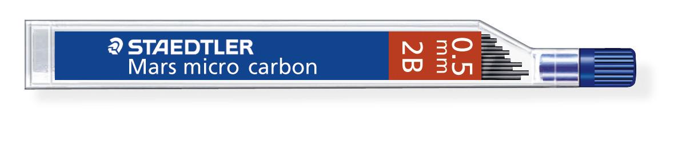 Mina para lapiseira Mars Micro Carbon 250 - Staedtler
