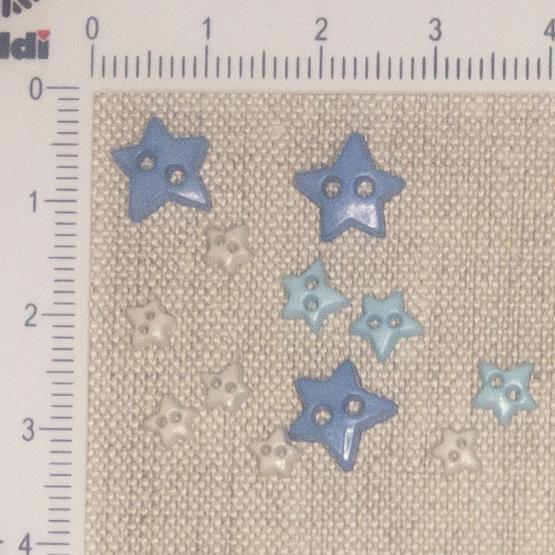 Mini Botões - Mix de Estrelas Cod.2217053