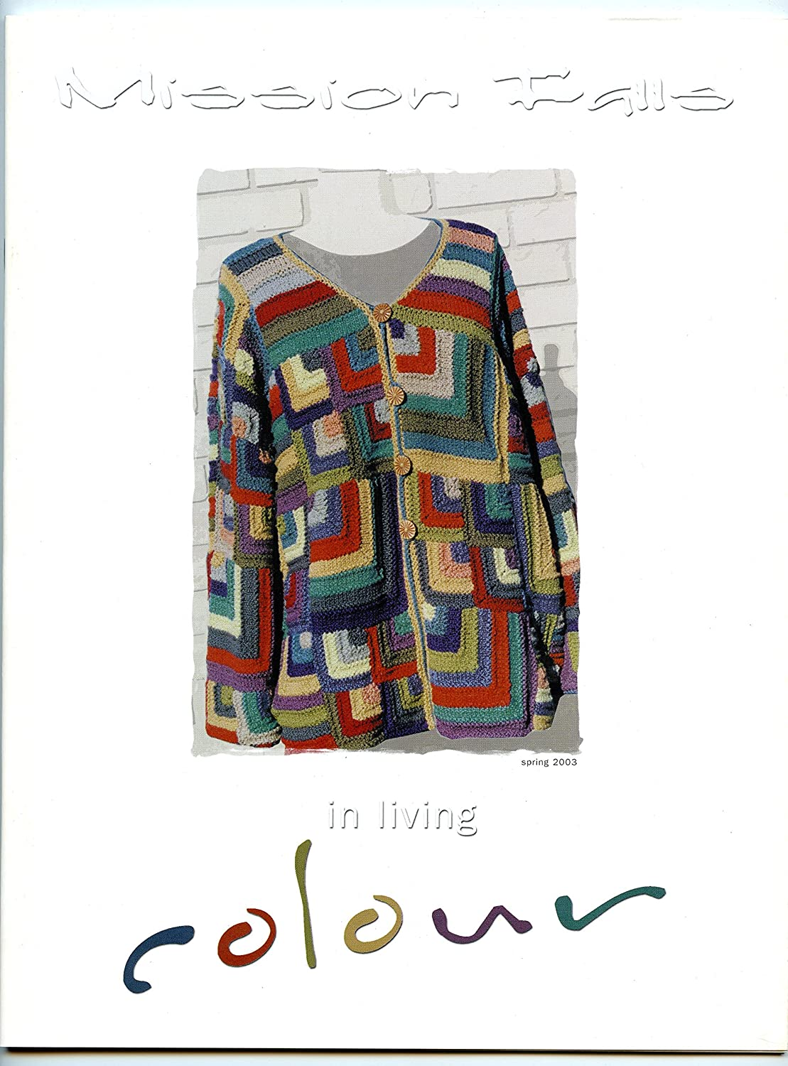 Mission Falls - In Living Color - Knitting Pattern Book