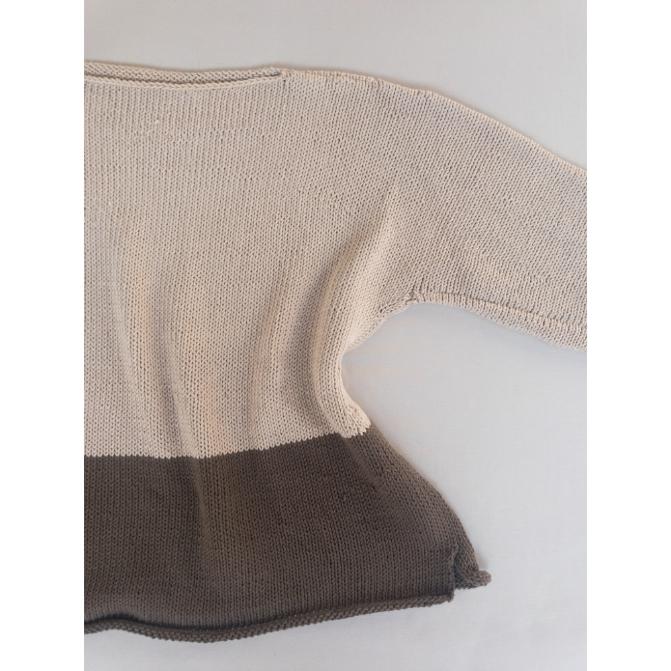 Receita Basic Cotton Sweater - Empório das Lãs