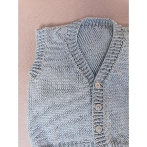Receita Boy Vest - Empório das Lãs