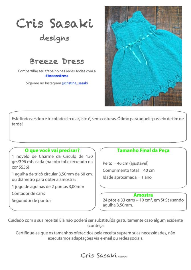 Receita Breeze Dress - Empório das Lãs
