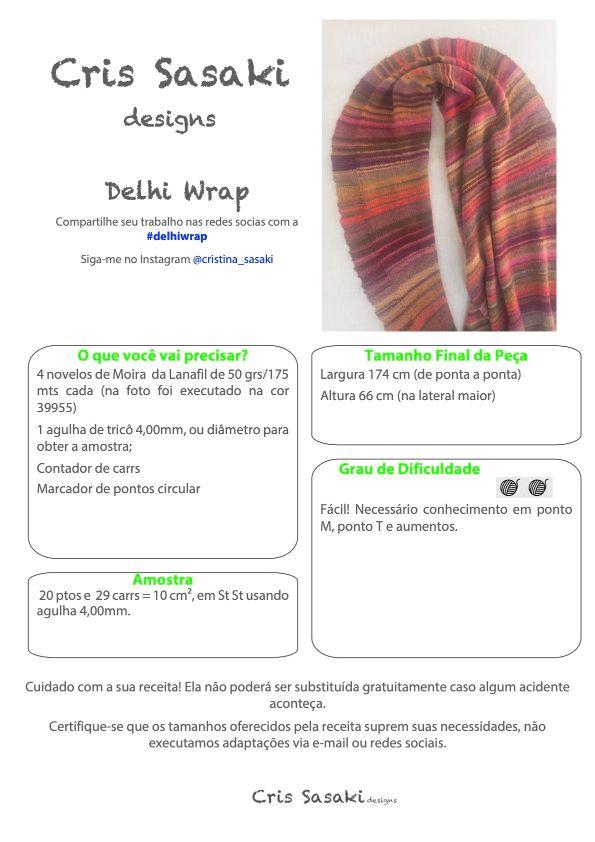 Receita Delhi Wrap - Empório das Lãs