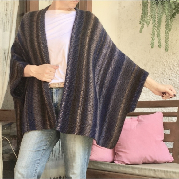 Receita Kimono Pagliaccio - Empório das Lãs