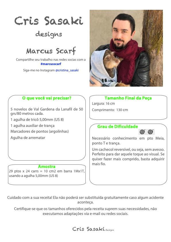 Receita Marcus Scarf - Empório das Lãs