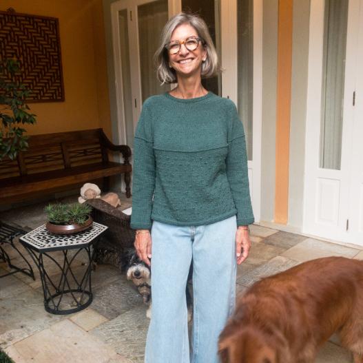 Receita Tivoli Sweater - Empório das Lãs