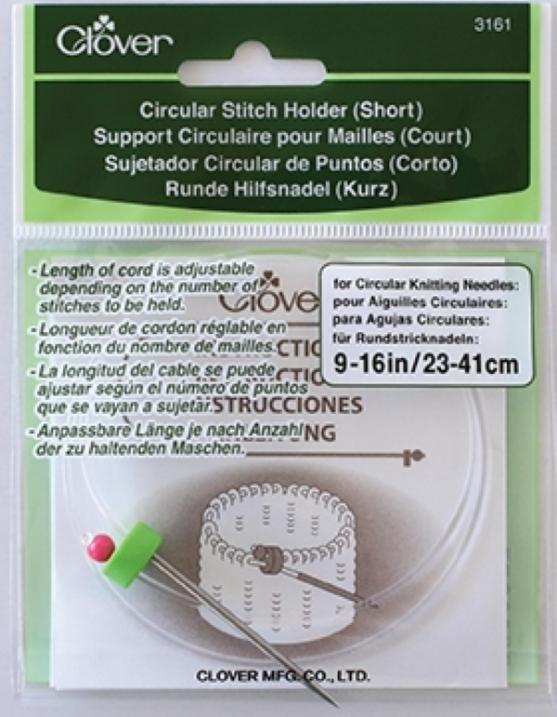 Segurador de Pontos Circular para tricô - Clover 3161 3162
