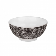 Bowl de porcelana egypt 15x7,5cm