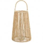 Lanterna Caraíva em fibra Natural