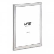 Porta-retrato Minimalist de metal prata 10X15