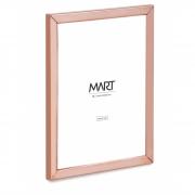 Porta-retrato Minimalist de metal rose gold 10X15