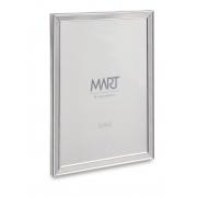 Porta-retrato prata em metal- 15X20