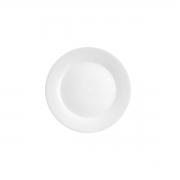 Prato raso de porcelana clean 26cm