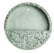 Terrário Granilite I para parede de cimento areia