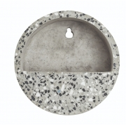 Terrário Granilite II para parede de cimento areia