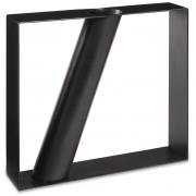 Vaso Geometric em Metal preto