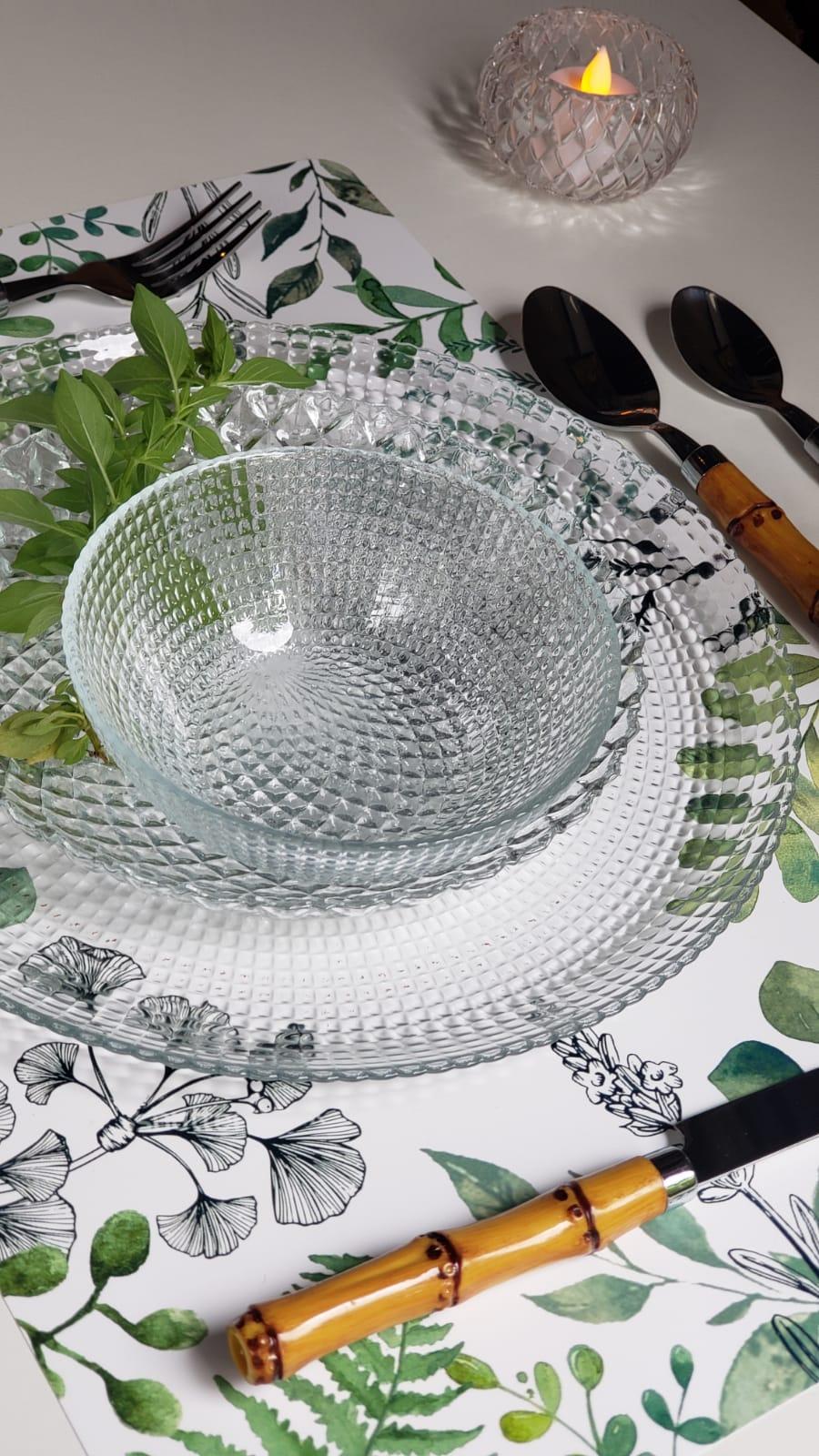 Bowl Clear de Vidro transparente 13 x 4,5cm