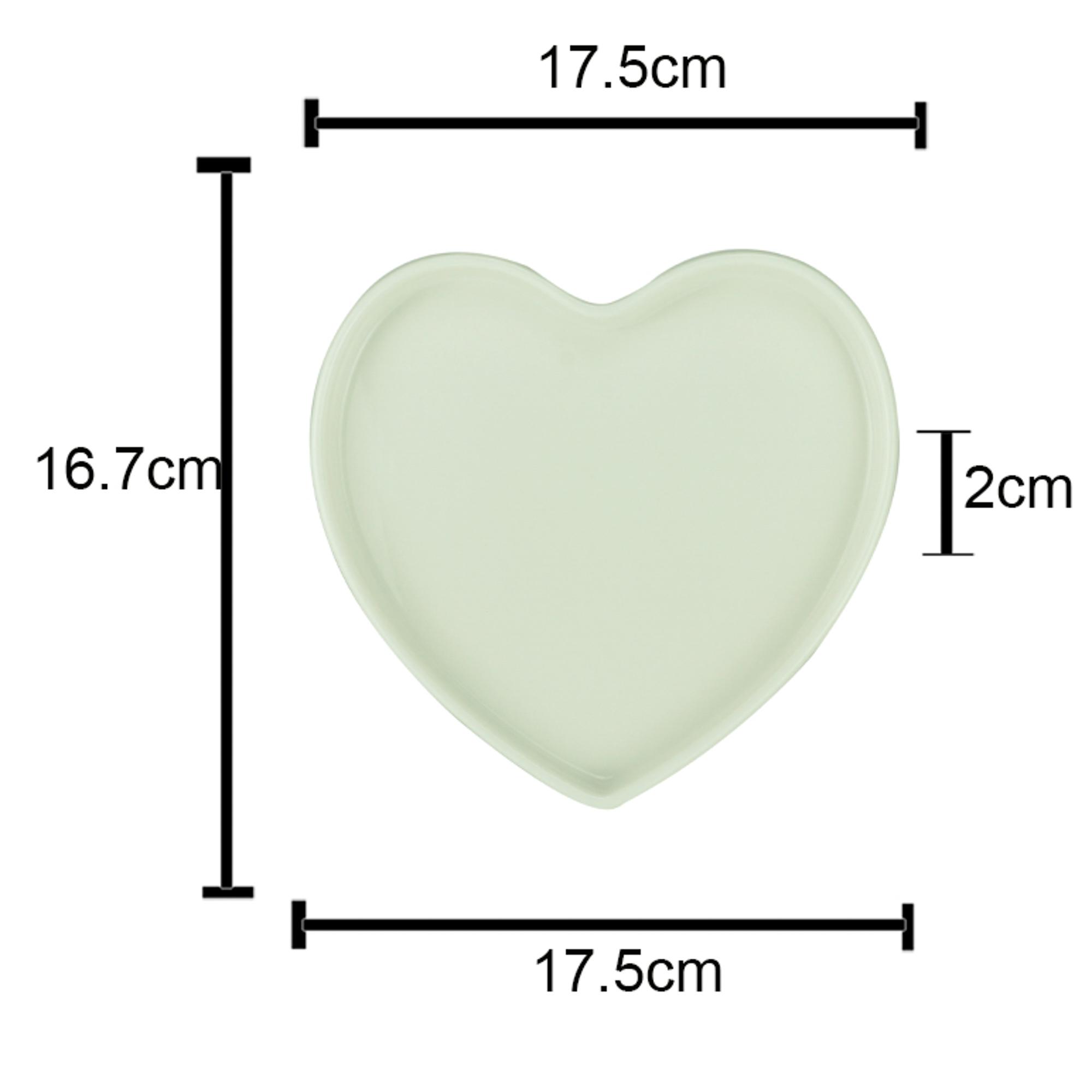 Centro de mesa decor basics heart