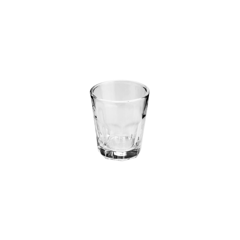 Conjunto 6 copos para shot Faces de vidro incolor 50ml