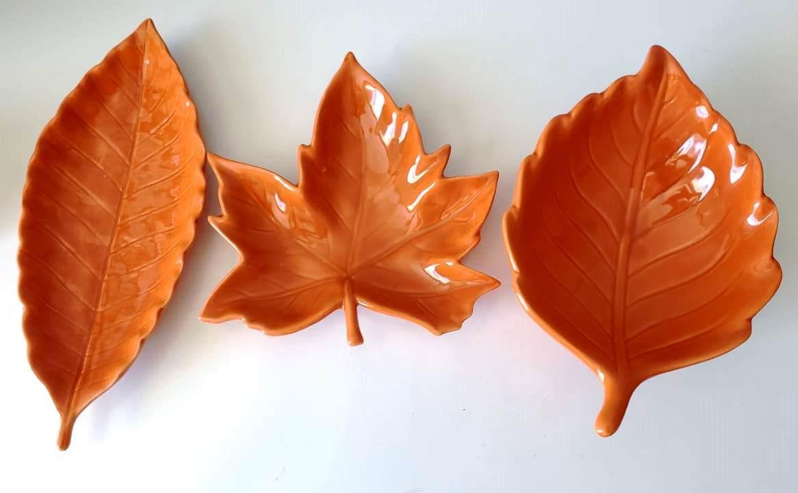 Folha de manjericão decorativa