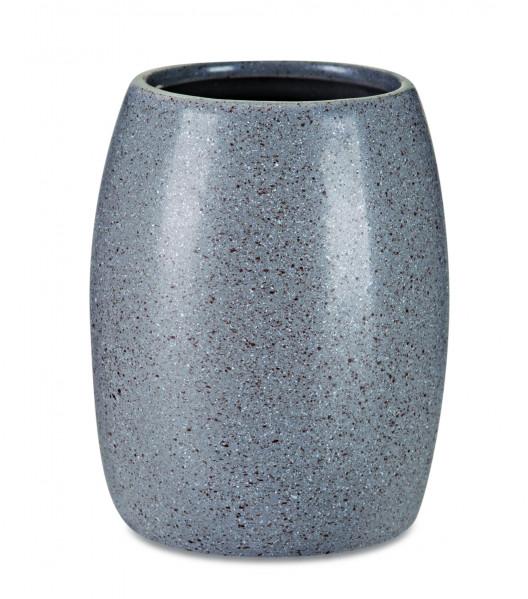 Kit para banheiro gray em cerâmica 3pçs