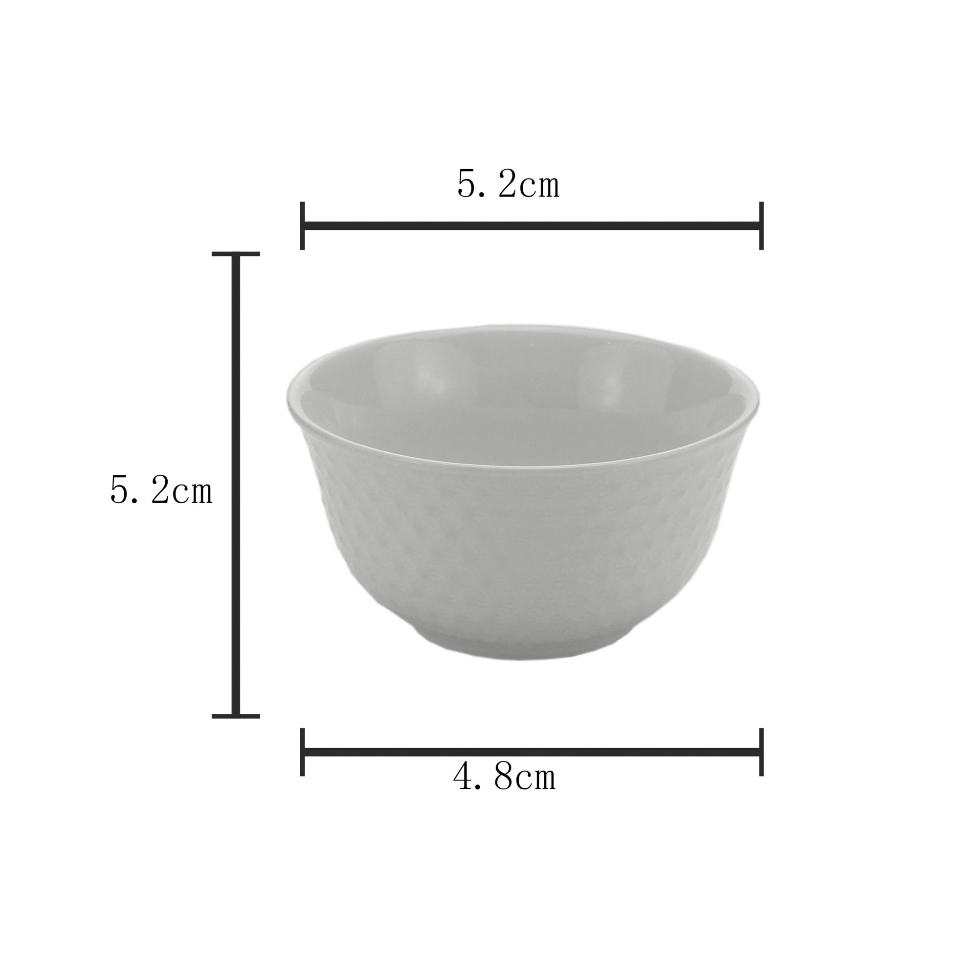 Mini bowl basics geometric de cerâmica