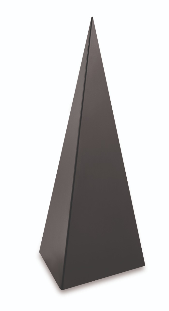 Piramide Black em Metal