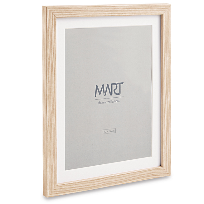 Porta-retrato Rustic I em MDF - 10X15cm