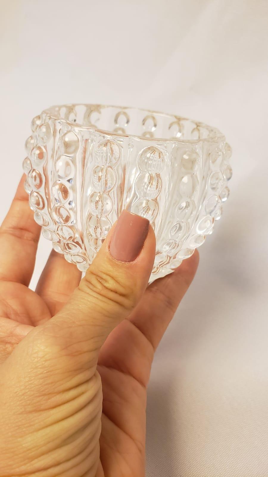 Porta-Velas Elegance em vidro