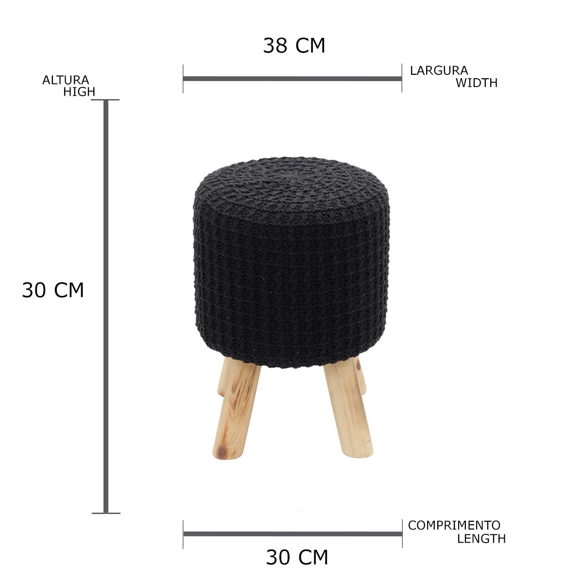 Puff crochett 4 feet