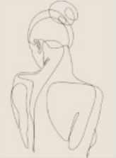 Quadro decorativo Women moldura em mdf preta 33 x 43