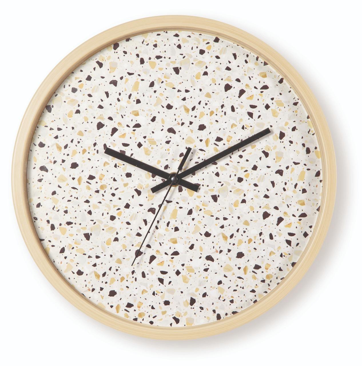 Relógio de parede Granilite areia