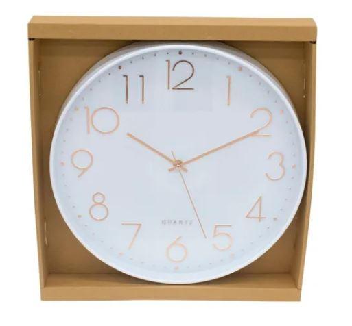 Relógio délicat branco e rose gold